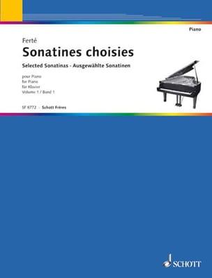 Sonatines Classiques Volume 1 - Armand Ferté - laflutedepan.com