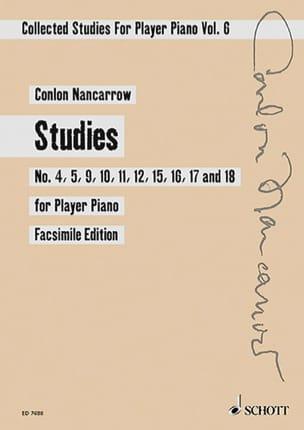 Collected Studies Volume 6. - Colon Nancarrow - laflutedepan.com