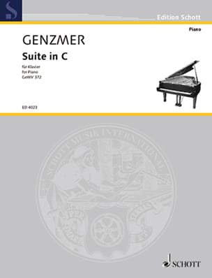 Suite En Ut Majeur - Harald Genzmer - Partition - laflutedepan.com
