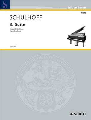 Suite N°3 1926 Erwin Schulhoff Partition Piano - laflutedepan