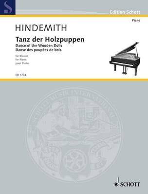 Tanz der Holzpuppen - Paul Hindemith - Partition - laflutedepan.com