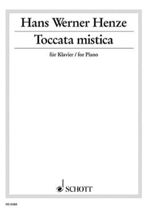 Toccata Mistica - Hans Werner Henze - Partition - laflutedepan.com