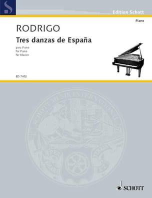 Joaquin Rodrigo - 3 Danzas de España 1941 - Partition - di-arezzo.fr