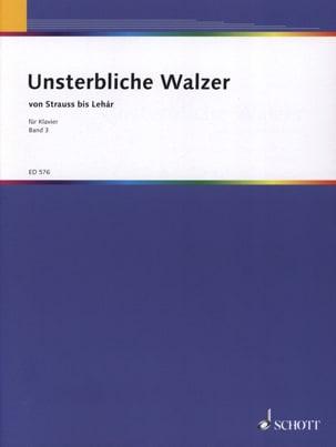 Unsterbliche Walzer, Bd 3 - Partition - Piano - laflutedepan.com