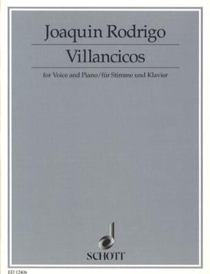 Villancicos - Joaquín Rodrigo - Partition - laflutedepan.com