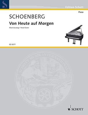 Von Heute Auf Morgen - Arnold Schoenberg - laflutedepan.com
