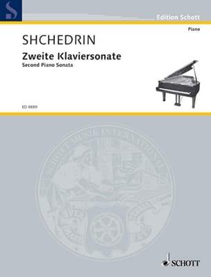 Zweite Klaviersonate (1996) - Rodion Chedrin - laflutedepan.com