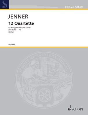 12 Quartette, vol.1 - Gustav Jenner - Partition - laflutedepan.com