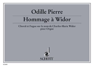 Choral Et Fugue Sur Le Nom De Charles-Marie Widor - laflutedepan.com