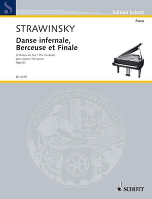 Igor Stravinski - Infernal Dance, Lullaby and Finale. - Sheet Music - di-arezzo.co.uk