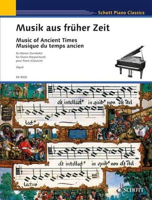 Musik Aus Früher Zeit 1350-1650 Partition Clavecin - laflutedepan