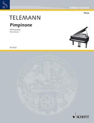 Pimpinone - Georg Philipp Telemann - Partition - laflutedepan.com
