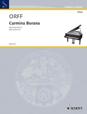 Carmina Burana (1936) Piano - Carl Orff - Partition - laflutedepan.com