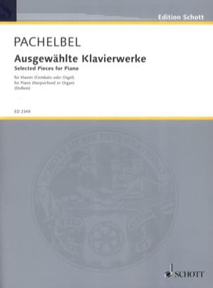 Ausgewählte Klavierwerke - Johann Pachelbel - laflutedepan.com