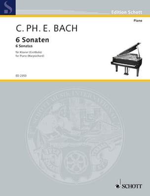 6 Sonaten. Volume 1 - Carl-Philipp Emanuel Bach - laflutedepan.com