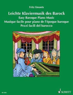 Leichte Klaviermusik des Barock - Partition - laflutedepan.com