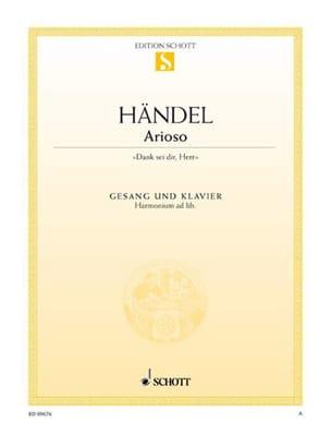 Arioso - Georg-Friedrich Haendel - Partition - laflutedepan.com
