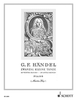 20 Kleine Tänze - Georg F Haendel - Partition - laflutedepan.com
