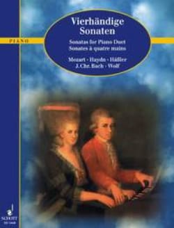Sonates A Quatre Mains - Partition - Piano - laflutedepan.com
