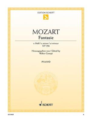 MOZART - Minor K Fantasia 396 - Partitura - di-arezzo.es