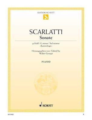 Katzen-Fuge - Domenico Scarlatti - Partition - laflutedepan.com