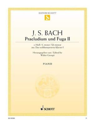 Präludium et Fugue BWV 847 Do Mineur BACH Partition laflutedepan