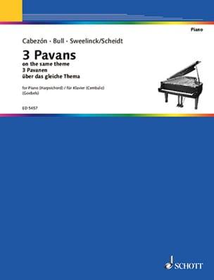 - 3 Pavanen Uber Das Gleiche Thema - Sheet Music - di-arezzo.co.uk