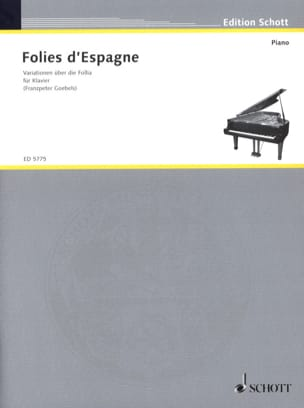 - Folies from Spain - Sheet Music - di-arezzo.co.uk