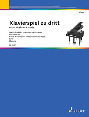 - Klavierspiel zu dritt Bd 1 - Sheet Music - di-arezzo.co.uk