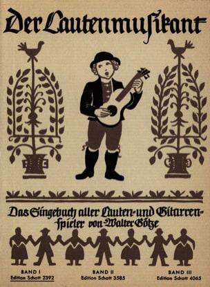 Der Lautenmusikant Bd 1 - Partition - Guitare - laflutedepan.com