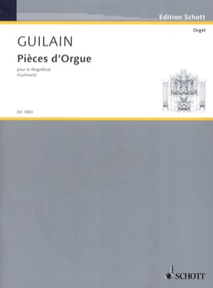 Jean Adam Guilain - Organ pieces for the Magnificat - Sheet Music - di-arezzo.co.uk