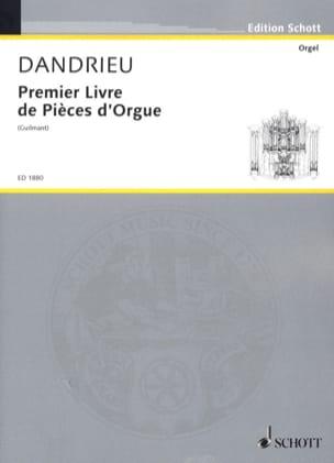 Jean-François Dandrieu - Primer libro de piezas de órgano - Partitura - di-arezzo.es