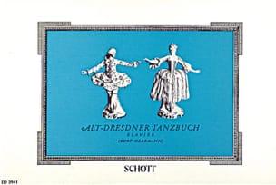 Alt-Dresdner Tanzbuch. - Partition - Clavecin - laflutedepan.com