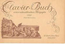 Clavierbuch einer schwäbischen Herzogin (1697) laflutedepan