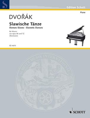 DVORAK - Selection of Slavic dances op. 46 and 72 - Sheet Music - di-arezzo.co.uk
