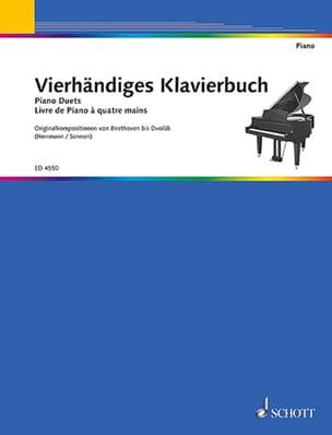 Vierhändiges Klavierbuch. 4 mains - Partition - laflutedepan.com