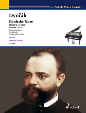 DVORAK - Slaves Dances 4 Hands Opus 46. - Sheet Music - di-arezzo.co.uk