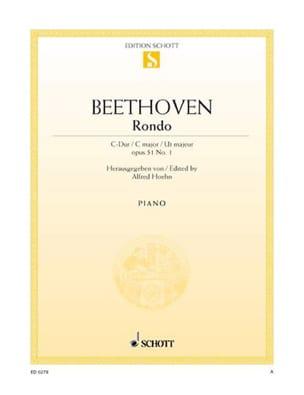 Rondo Do Majeur - Ludwig van Beethoven - Partition - laflutedepan.com