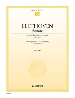 Sonate Ré Mineur Opus 31-2 - Ludwig van Beethoven - laflutedepan.com