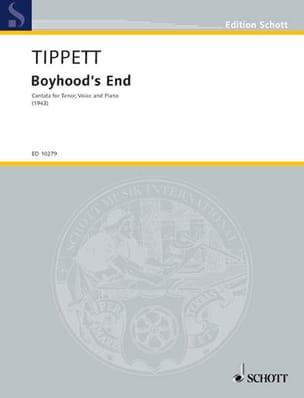 Boyhood's End (Ténor) - Michael Tippett - Partition - laflutedepan.com
