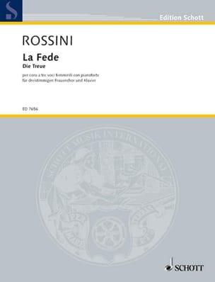 La Fede - Gioacchino Rossini - Partition - Chœur - laflutedepan.com