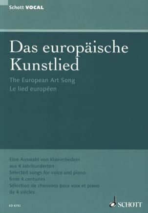 - Das europäische Kunstlied - Partition - di-arezzo.fr