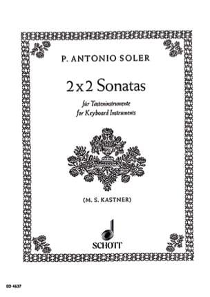 Soler - 2 x 2 Sonatas - Sheet Music - di-arezzo.co.uk