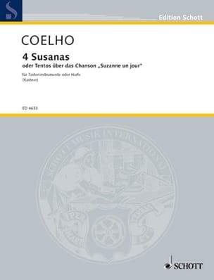 4 Susanas Manuel Rodrigues Coelho Partition Clavecin - laflutedepan