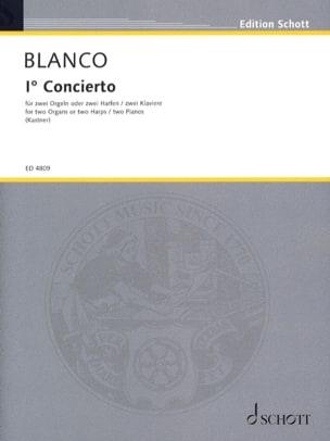 1er Concerto pour 2 Orgues - Pedro J Blanco - laflutedepan.com