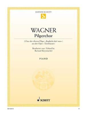 Pilgerchor. Choeur des Pèlerins Richard Wagner Partition laflutedepan