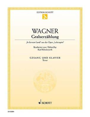 In Fernem Land. Lohengrin Richard Wagner Partition laflutedepan