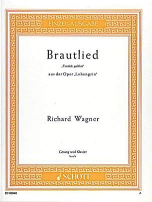 Brautlied : Treulich Geführt. Lohengrin Richard Wagner laflutedepan