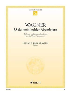 O Du Mein Holder Abendstern. Tannhauser Richard Wagner laflutedepan