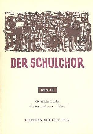 Der Schulchor Bd 2 - Partition - Chœur - laflutedepan.com